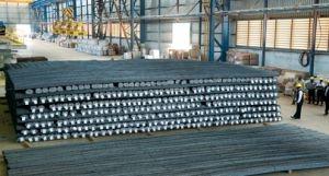 Angola reduz importação de aço