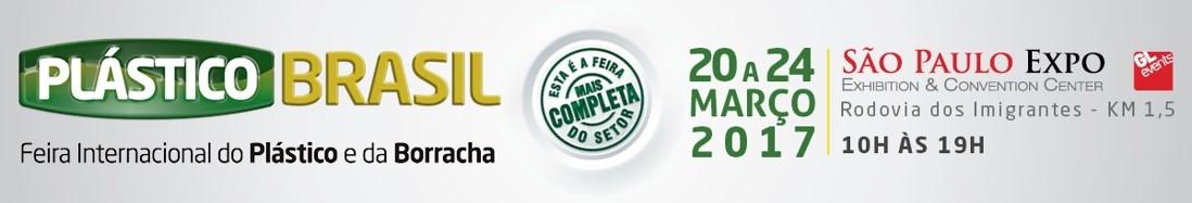 PLÁSTICO BRASIL — Feira Internacional do Plástico e da Borracha
